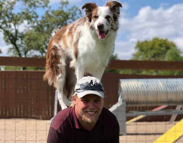 Corey Training Dog